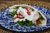 Greek Style Pita Sandwiches