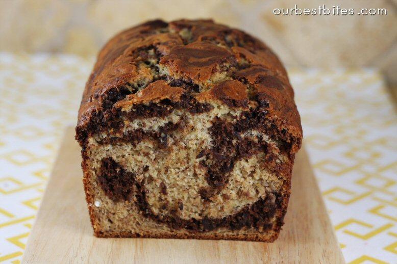 Chocolate Swirled Banana Bread {and Classic Banana Bread} - Our Best ...
