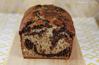 Chocolate Swirled Banana Bread {and Classic Banana Bread}