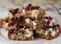 Cranberry Cinnamon Chip Bars