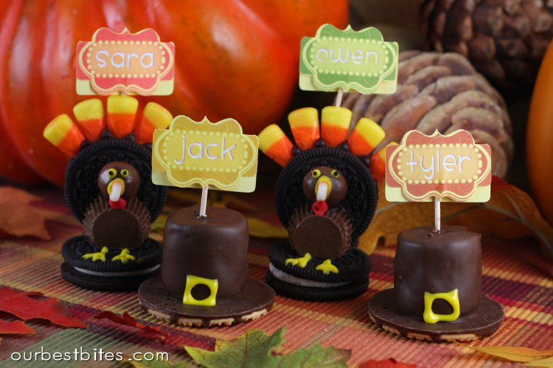 Oreo Turkeys And Cookie Pilgrim Hats Our Best Bites