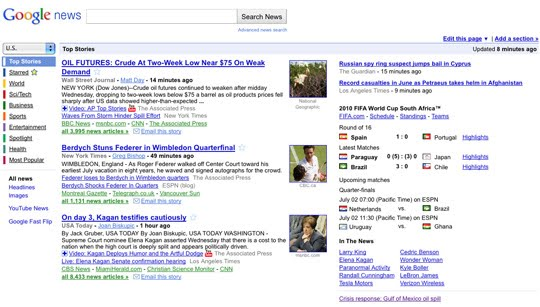 BEFORE Extra! Extra! Google News redesigned to be more customizable and shareable | Tech NEWS