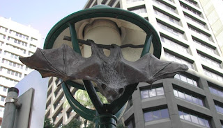 Adelaide Street Animal Sculpture - Flying Fox