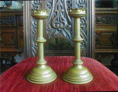 Gothic Candlesticks