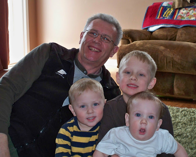 Grandpa with his boys!