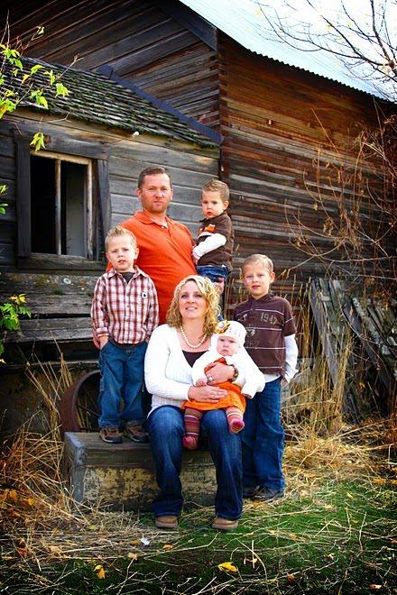 Dan, Jen and kids