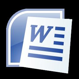 Microsoft Word 2007 Logo