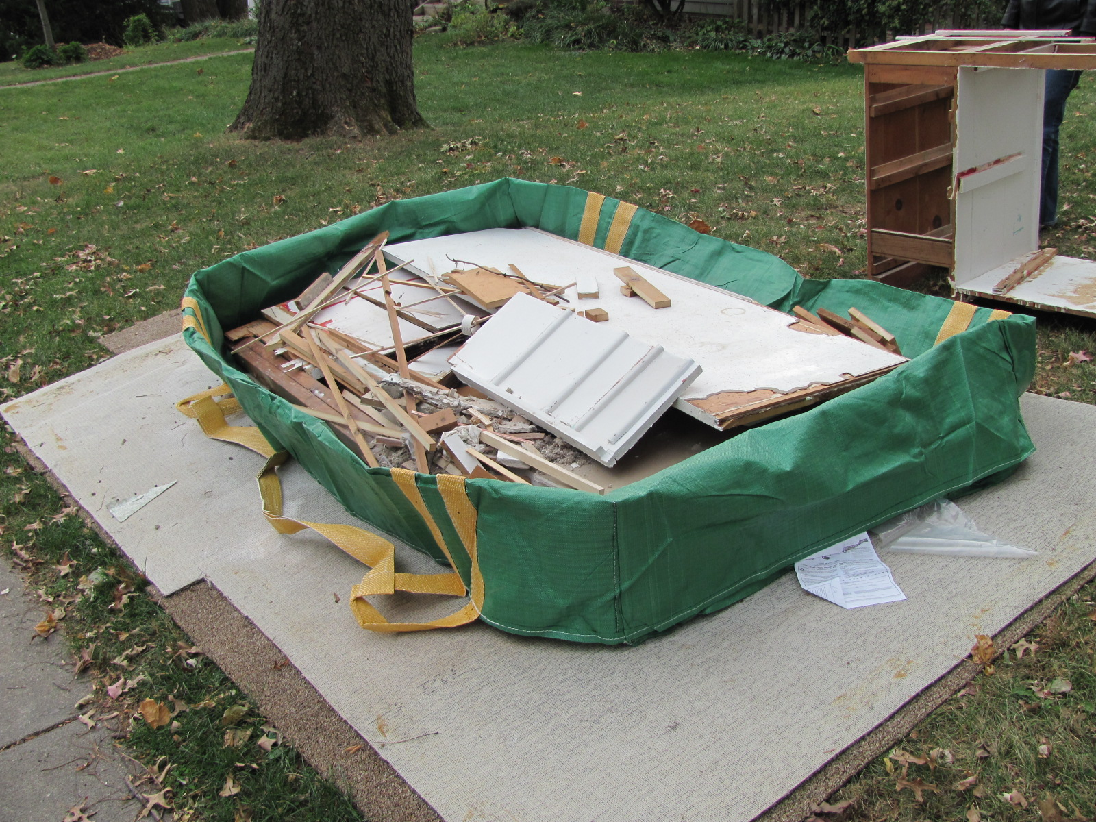 LIFE: SIMPLIFIED: Bagster Cloth Dumpster