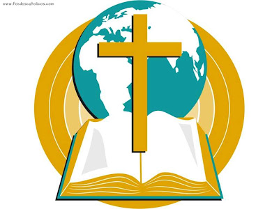 Cross & Bible Clip Art