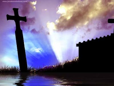 fondos de escritorio cristianos. wallpapers de cruces dibujos y