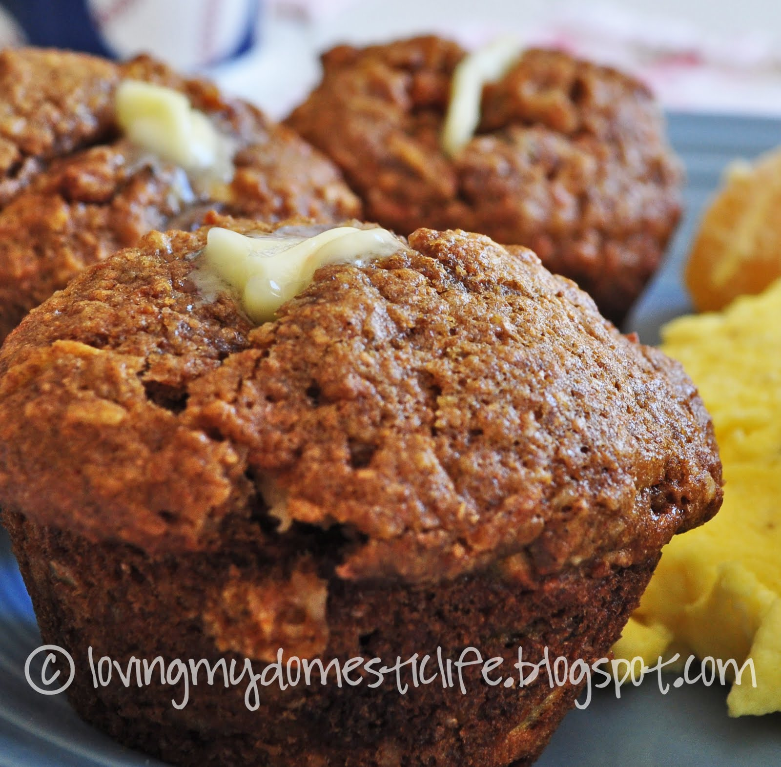 Loving My Domestic Life: Morning Glory Muffins