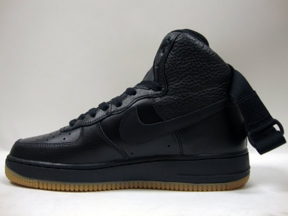 Solesurvivor Detroit Nike Air Force 1 High Black Gum