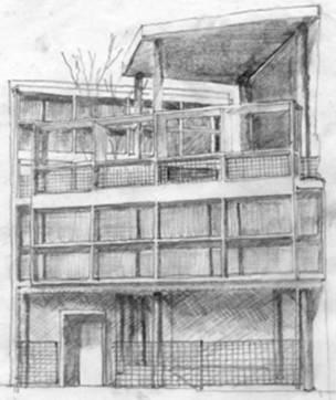 Casi arquitectos etsa trabajo le corbusier emilio bello villanueva - Le corbusier casas ...