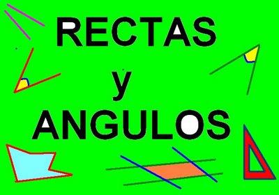 RECTAS Y ÁNGULOS