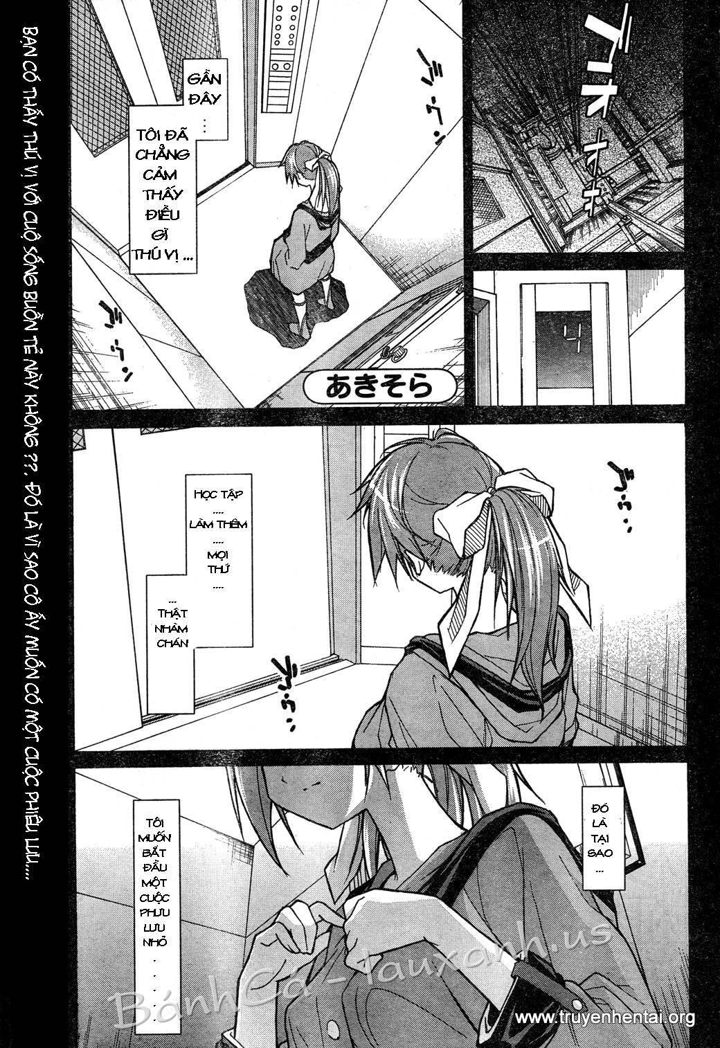 Aki-Sora Chap 4 - Trang 1
