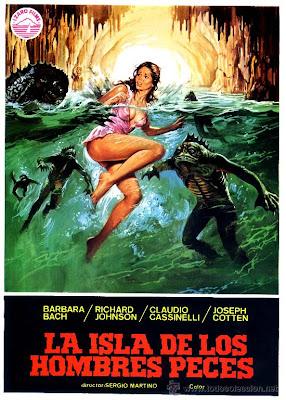 La isla de los hombres peces dirigida por Sergio Martino