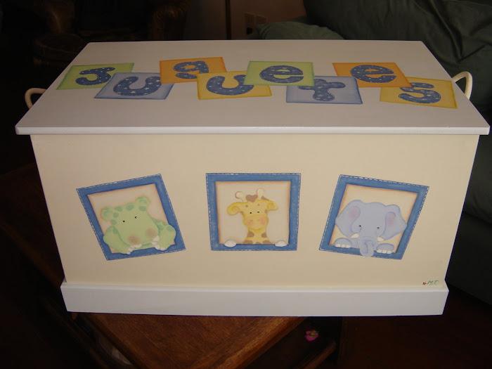 Accesorios y decoraci n de dormitorios infantiles 11 may 2008 - Baules infantiles ...