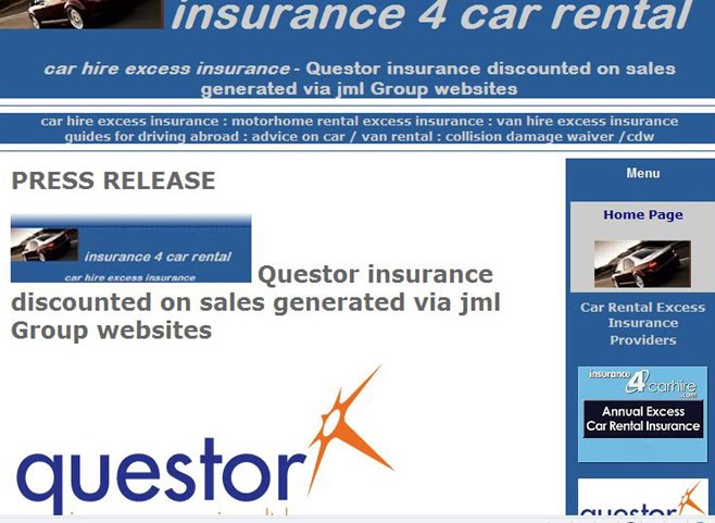 Buy Car Insurance For Hire Car Abroad