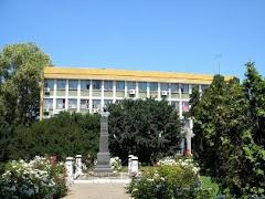 Bustul marelui poet M.Eminescu