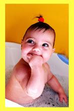 Un baño es un lindo momento para fotografiar!