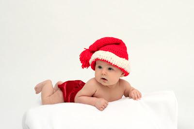 handmade santa hat