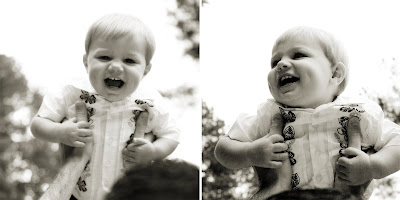 laughing baby photo