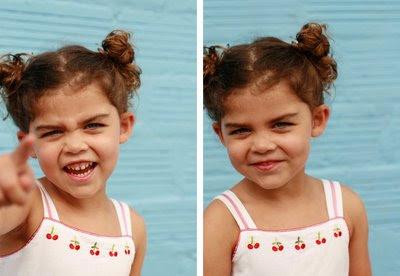 little girl potrait