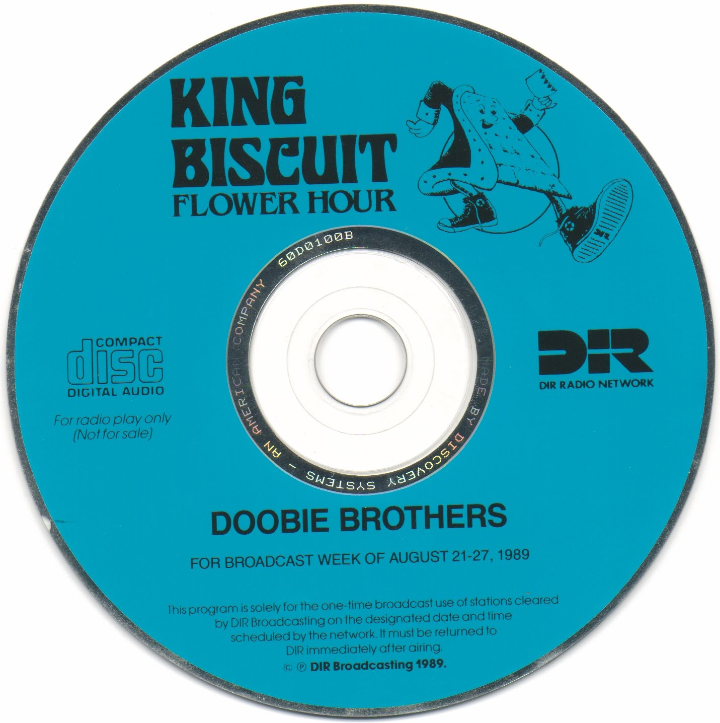 D & P s Bootleg Tunz World Doobie Brothers King Biscuit