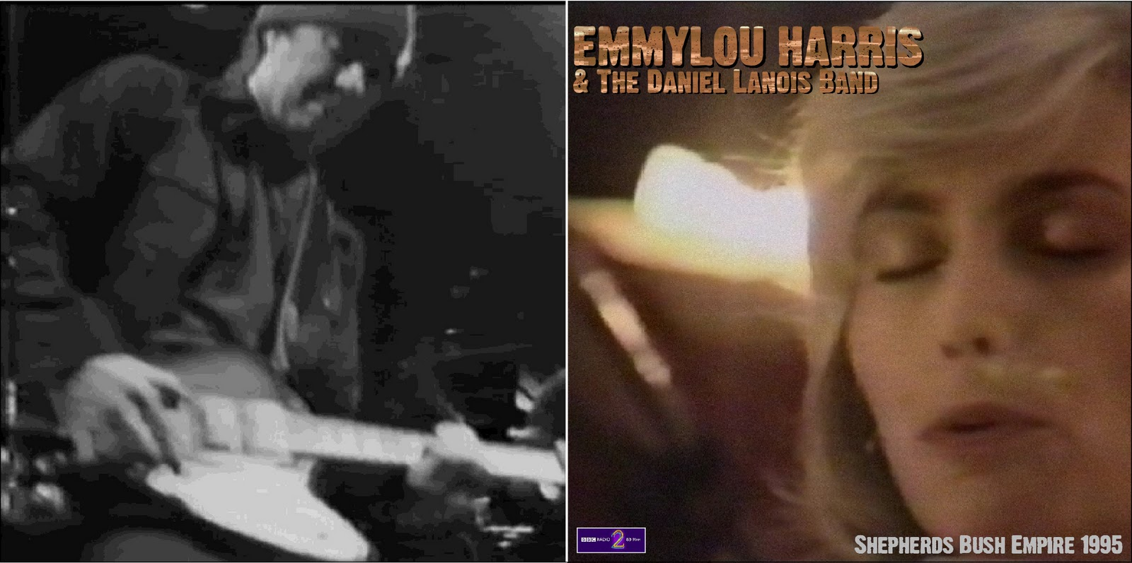 Harris & The Daniel Lanois