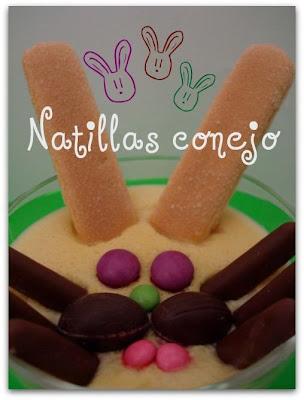 Pâques en gourmandise Natillas+conejo