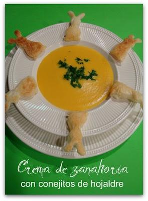 Idées repas rigolo pour Pâques Crema+conejos
