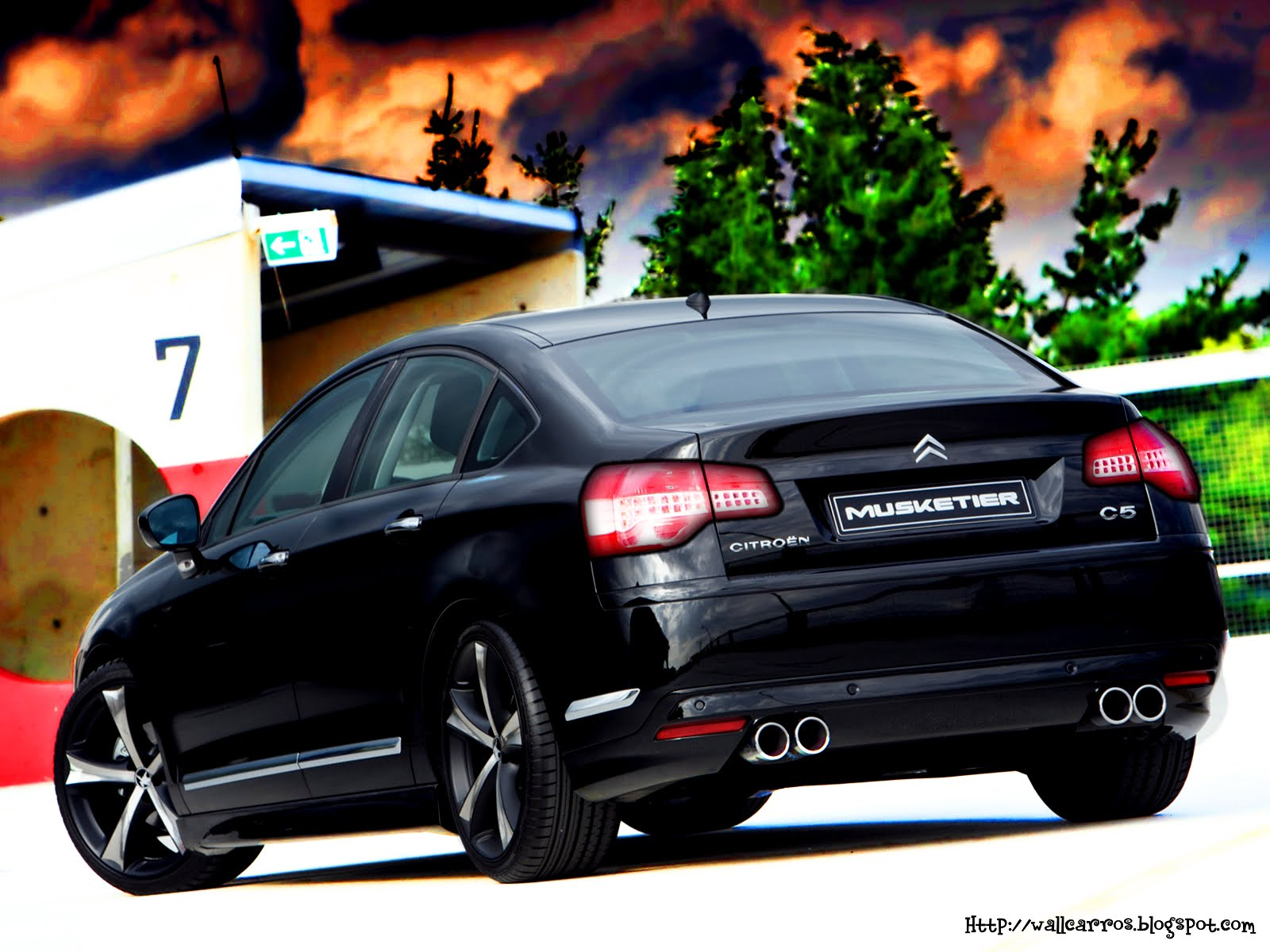 citroen c5 tuning cars hd wallpapers wall box