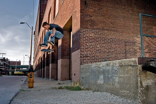 Joe James, fs flip