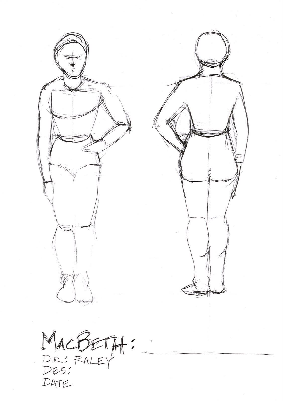 Kari Glass Design Template For Costume Design