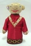 boneka horta etnik melayu Female merah