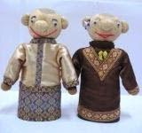 boneka horta etnik melayu couple mix