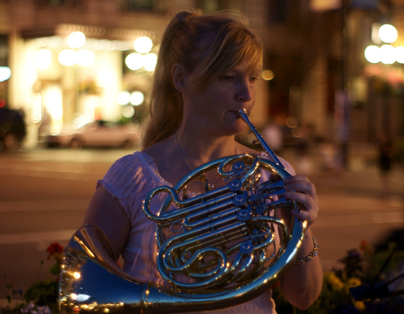 Karen Hough, French horn player, Victoria, BC, Canada