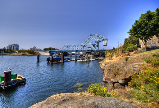Johnson Street Bridge, Victoria, BC, Canada
