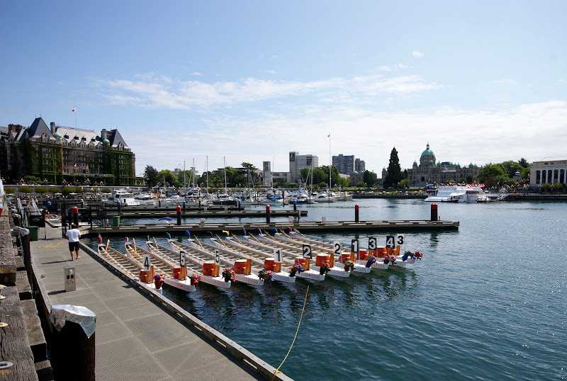 Dragon boat festival, Ship Point Pier, Victoria, Canada