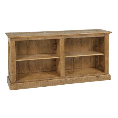 Rubicon Low Double Bookcase