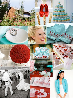 Chamomile and Peppermint Blog - Blog Love Feature - Polka Dot Bride - An Australian wedding blog full of inspiration and ideas - Turquoise and REd