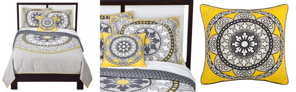 Black white yellow dwell for target grey white and yellow