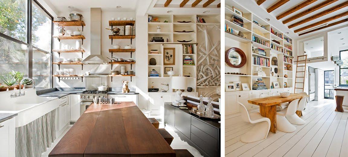 black white yellow white wood house tour. Black Bedroom Furniture Sets. Home Design Ideas