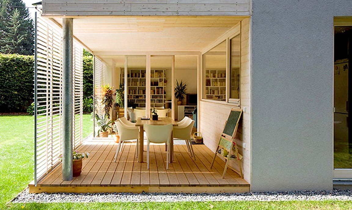 BLACK. WHITE. YELLOW.}: Indoor and Outdoor Rooms