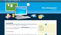 بلوقر : قالب Blue DesignWork معرب Blue-Designwork-225x128
