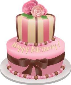 Birthday Cake Clip Art For Facebook : Mosaicos - Cida: Hoje e o aniversario de alguem muito ...