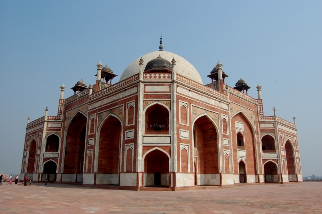 icapture islamic or mogul architecture in india