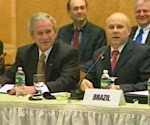 Bush participa pela primeira vez de encontro de ministros do G20