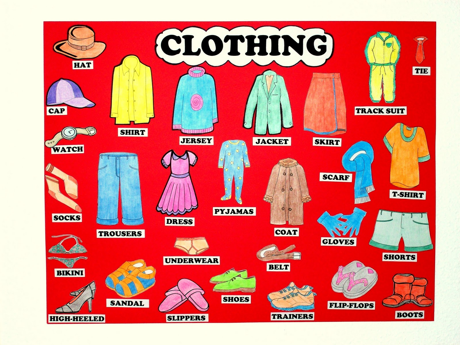 English Clothing