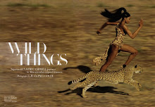 Naomi Campbell and The 'Wild Things' in Harper's Bazaar US